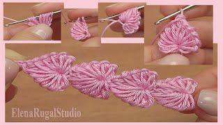 Download Crochet Mini Hearts String Tutorial 112 3Gp Mp4