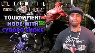 Ultimate Mortal Kombat 3 M.U.G.E.N: Tournament Mode w/Cyborg Smoke