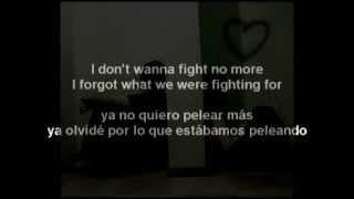 Westlife - I Don't Wanna Fight (Letra En Español)