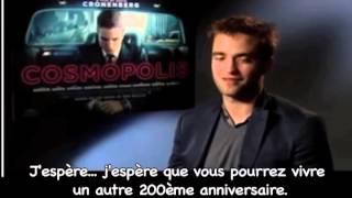 Rob souhaite un joyeux anniversaire à Total Film (vostfr)