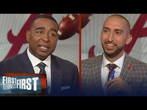 Nick Wright and Cris Carter impressed with Alabama's sustained dominance | CFB | FIRST THINGS FIRST