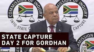 #StateCapture Gordhan: I am not a commodity for sale and the Guptas knew that