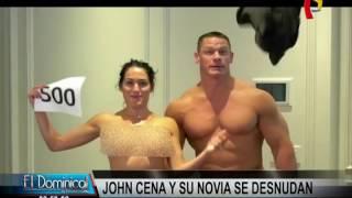 John Cena y Nikki Bella bailan completamente desnudos para agradecer a sus fans