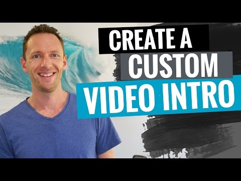 Xxx Mp4 How To Make A Video Intro For YouTube Full Tutorial 3gp Sex