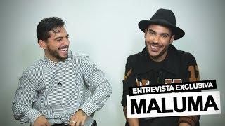 Hugo Gloss entrevista Maluma