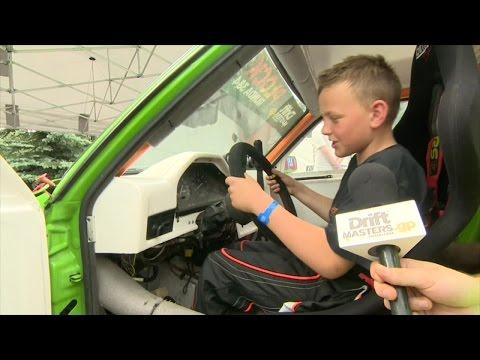 11-letni drifter Jan Borawski driftował 280-konnym autem podczas Drift Masters GP w Płocku