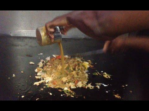 South indian famous Street food  Egg Kothu Parotta/ Bunch of Baroda/ முட்டை கொத்து பரோட்டா