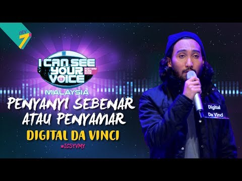 Penyanyi Sebenar Atau Penyamar Digital Da Vinci ICSYVMY