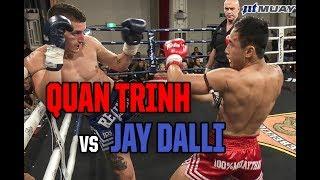 Muay Thai - Quan Trinh vs Jay Dalli, Rebellion Muay Thai, 3.3.18.