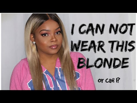 TOO DARK FOR ASH BLONDE HAIR?! Ft Wiggins Hair