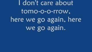 Pixie lott - here we go again / With lyrics on screen!