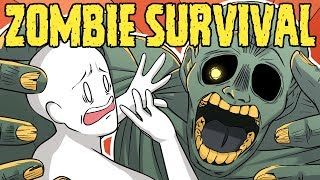 By the way, Can You Survive the Zombie Apocalypse? | Part 2 (ft. PantslessPajamas)