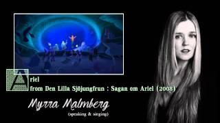 Swedish voices of Disney Princesses - Part 1