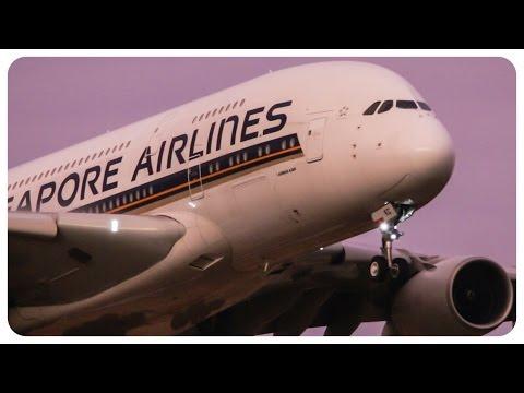 Xxx Mp4 3x Airbus A380 Landings Close Up Melbourne Airport Plane Spotting 3gp Sex