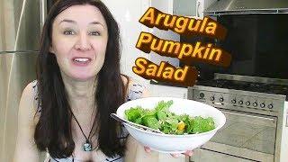 Arugula Rocket Pumpkin Pinenut fetta salad