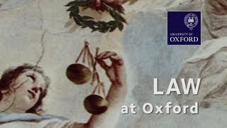 Law at Oxford University