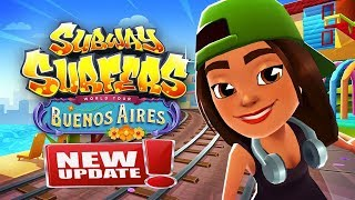 Subway Surfers Buenos Aires Gameplay for Babies #1