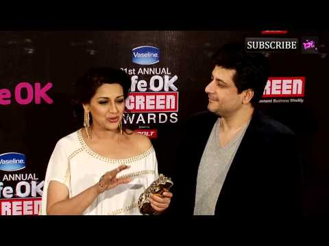 Xxx Mp4 Red Carpet 21st Annual Life Ok Screen Awards Sonali Bendre Goldie Behl 3gp Sex