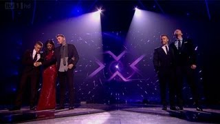 The Result - The Final - The X Factor UK 2012