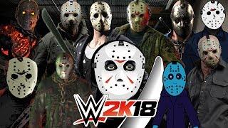 JASON VOORHEES | Royal Rumble WWE 2K18