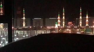 Sleeping With This Peaceful View, SubhanAllah!!  ♥  -  Madina Al Masjid an Nabawi