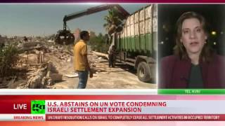 UNSC passes resolution demanding end to Israeli settlement building on occupied Palestinian land