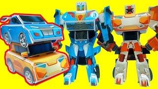 또봇장난감 또봇X, 또봇Y 로봇 자동차 접어 만들기 Make a Paper Robot  Tobot X , Tobot Y