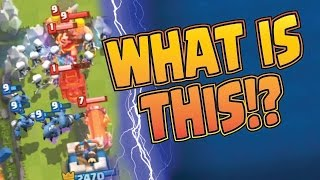 WHAT IS GOING ON HERE?! --- Clutch Battles --- CLASH ROYALE