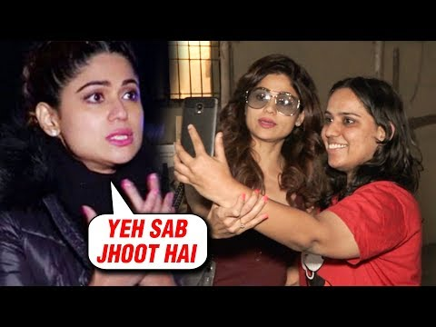 Shamita Shetty SLAMS Media REPORTS For Putting FAKE NEWS Of Her With FANS
