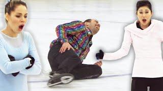 Regular People Try Olympic Figure Skating (With Kristi Yamaguchi)