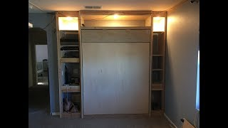 DIY Murphy Bed Build for beginners