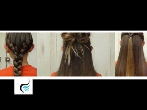 5 Minute Easy Hairstyles For Little Girls