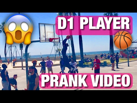 Xxx Mp4 D1 BASKETBALL PLAYER PRETENDS TO BE SURFER PRANK DUNKING IN A WETSUIT VENICE BEACH 3gp Sex