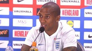 Ashley Young Full Pre-Match Press Conference - England v Croatia - World Cup Semi-Final -Russia 2018