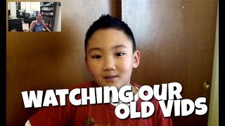 Watching Our Old Videos...