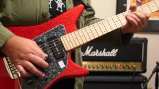 Jamming on the Music Man Albert Lee MM90 guitar
