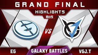 EG vs VGJ.Thunder [EPIC] Grand Final Galaxy Battles 2018 Highlights Dota 2
