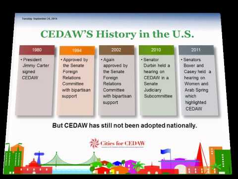 Introducing Cities for CEDAW