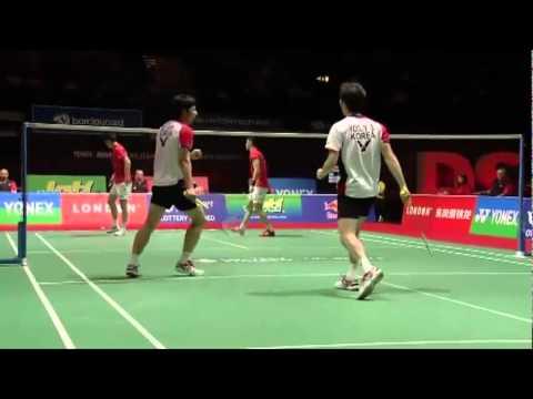 World Cup Badminton MD - Cai Y./Fu H. vs Ko S.H./Yoo Y.S #2