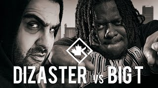 KOTD - Rap Battle - Dizaster vs Big T   #Bay