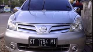 Dijual Nissan Grand Livina XV Matick Silver Tahun 2011 Samarinda HP;085246902754