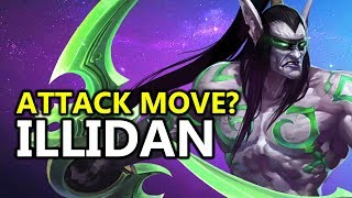 ♥ ... I Forgot How To Attack Move w/ Illidan - Heroes of the Storm (HotS Gameplay)