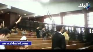 حصري كلمة د محمد بديع في المحكمة