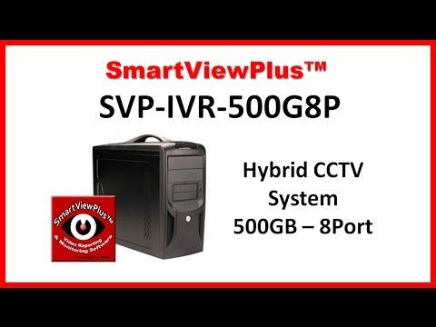 8 Channel DVR Surveillance System Security Camera Systems SVP-IVR-500G8P8 camera DVR