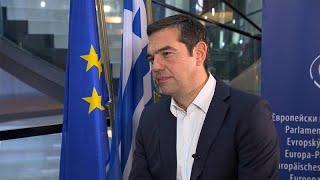 """Alexis Tsipras : """"Le remboursement de la dette grecque est soutenable"""""""