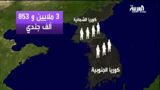 مقارنة بين جيشي كوريا ..الشمالية والجنوبية