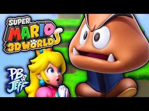 GOOMBA WITH LEGS?! - Super Mario 3D World | Wii U (Part 14)