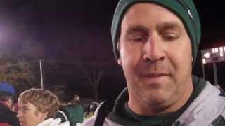 FOOTBALL: Pennridge coach Randy Cuthbert on CB South win