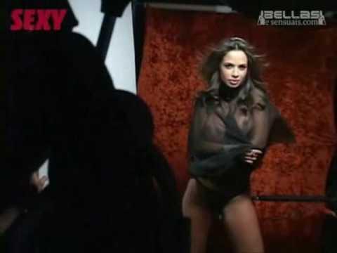 Sandy Capetinha Making of Revista Sexy