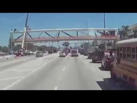 Xxx Mp4 FIU Bridge Collapse Caught On Dash Cam 3gp Sex